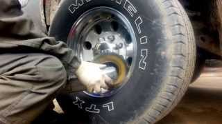 "Pick-up Truck "" Polishing Aluminum Rim """