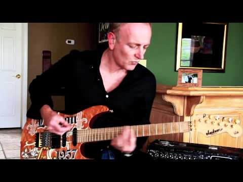 Phil Collen Plays white Lightning Solo For adrenalize 20th video