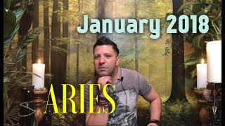 ARIES January 2018 Horoscope Tarot - ROMANCE & Transformation
