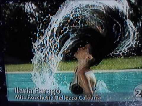 Ilaria Farago',Miss Rocchetta Bellezza Calabria,at Miss Italia 2009.Hot Sexy Bikini Model