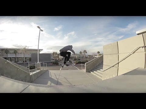 Enzo Cautela - PERFECT TRE FLIP! - 3 to 10 Stair Line!