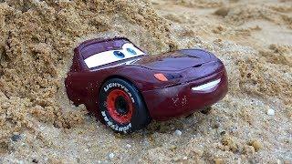 تعليم الاطفال الألوان الانجليزية - لعبة تعليمية للطفل مع سيارة كرتون ديزني