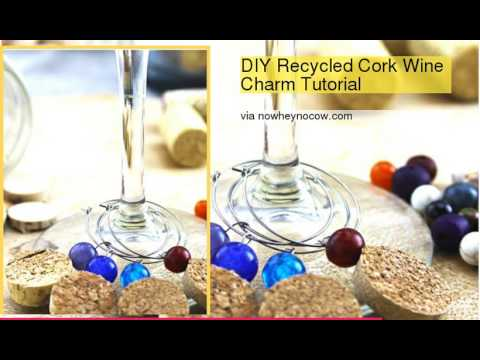 Top 10 DIY Lovely Wine Glass Charms