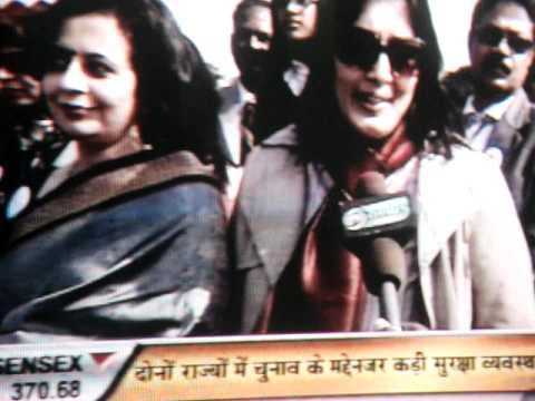 NCC RDC 1987 SILVER JUBILEE CELEBRATION DD NEWS P M RALLY 28 JAN-2012 MUKTA BHATIA & NIHARTIKA