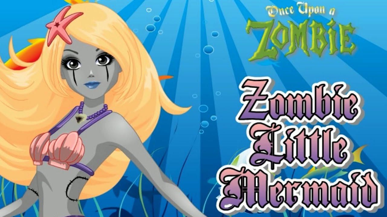 Zombie Little Mermaid Costume Zombie Little Mermaid - Once