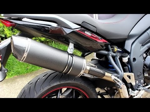 SC Project exhaust, startup and a few revs