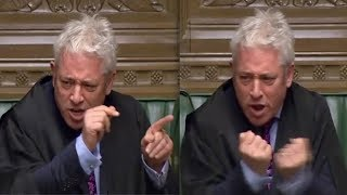 John Bercow: Speaker explodes at Boris Johnson for Commons suspension 'outrage'
