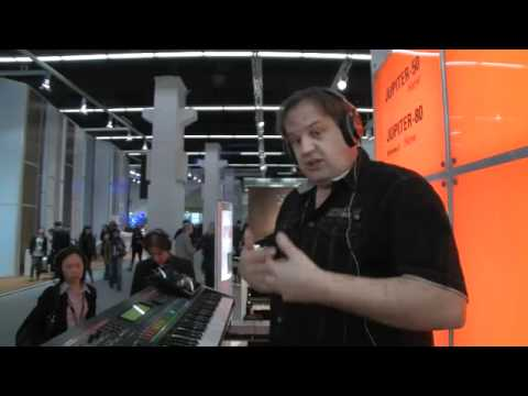 MESSE12: Roland Jupiter-50 Synthesizer Music Videos