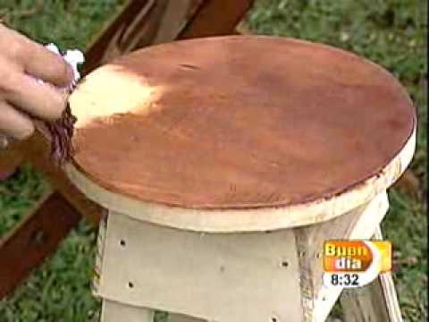 Medidas de un banco de madera