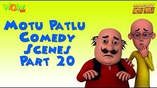 Motu Patlu Comedy Compilation - Part 20 - Motu Patlu Compilation As seen on Nickelodeon