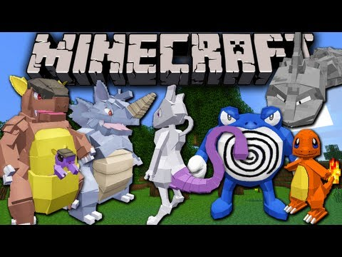 Pixelmon GIANT Update! Minecraft Pokemon Mod Spotlight for 1.6.2 (All 151!)