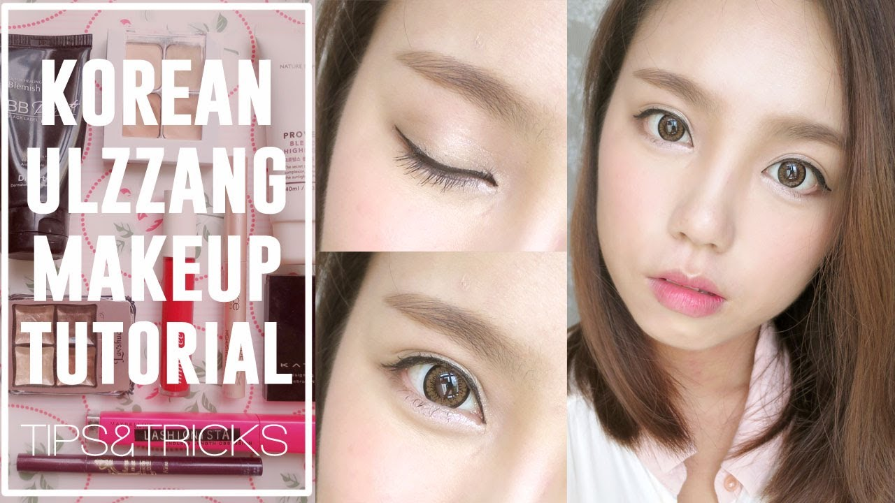 How To Korean Ulzzang/... Ulzzang Makeup Tutorial Blog