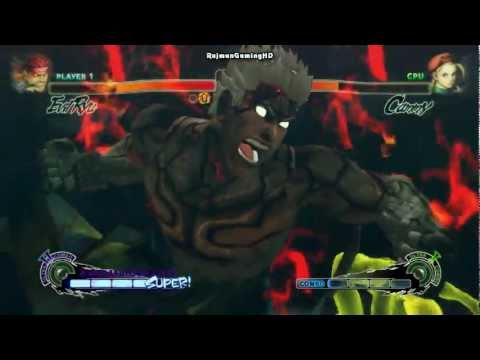 SSFIV AE: Asura vs Jill Valentine [1080p] TRUE-HD QUALITY