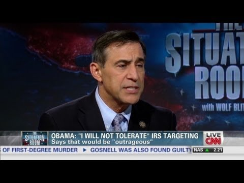 "Issa: Alleged IRS targeting ""can't happen again..."