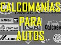 Calcomanias para Autos