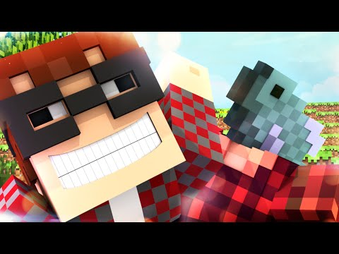 Minecraft Animated Short : A STORY OF A FISH!