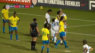 Nike International Friendlies: U20 WNT vs. Brazil