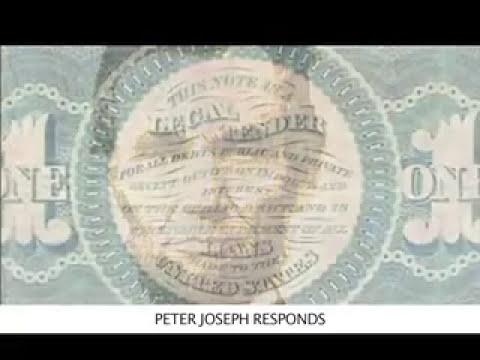 Peter Joseph's Response to