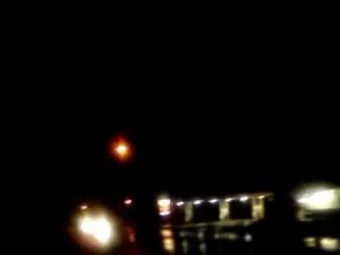 a lighting storm