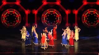 Indian dance group - Lila Prem_Rangeelo Mahro Dholna