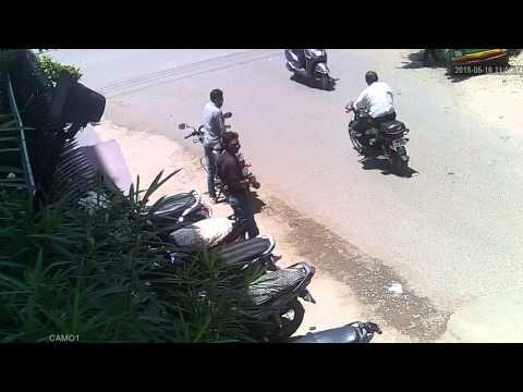 indore bike chor cctv footage