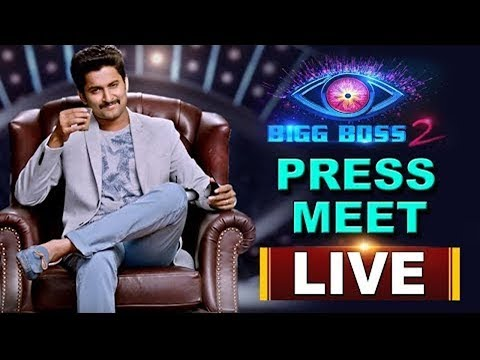 Big Boss 2 Press Meet || Nani || Alok Jain || LIVE - SAKSHI TV