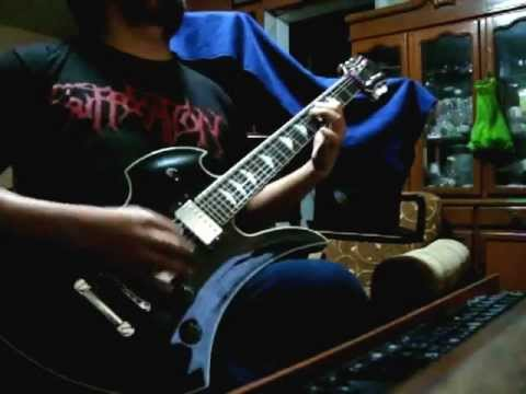 Suffocation Infecting The Crypts Guitar Cover