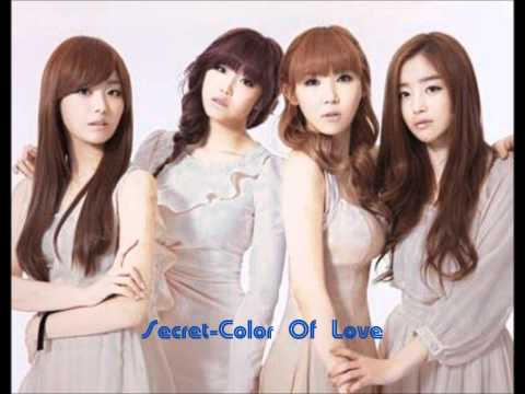 Secret-color Of Love Audio E Testo video