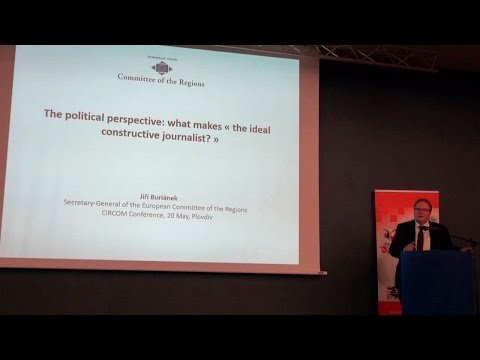 """Session """"The Political Perspective: What Makes """"The Ideal Constructive Journalist""""?"""""""