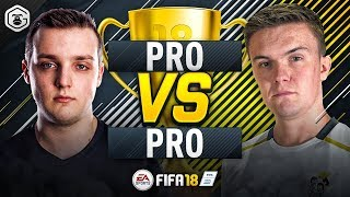 PRO vs PRO | GORILLA vs LP DRAGONN | FUT CHAMPIONS TOP 100 PLAYERS | FIFA 18 ULTIMATE TEAM #1