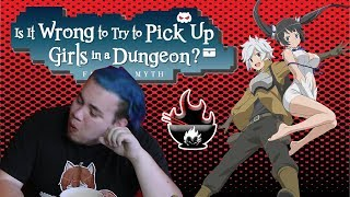 Spicy Anime Reviews - Is It Wrong To Try And Pick Up Girls In A Dungeon