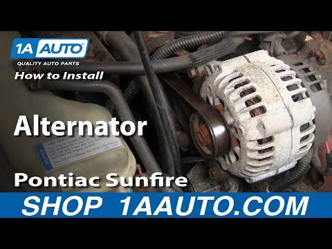 How To Install Replace Alternator Cavalier Sunfire 2.2L 95-05 1AAuto.com
