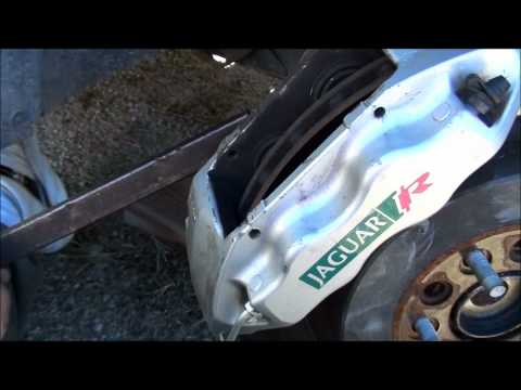 Jaguar s Type r Brake Calliper Brake Job s Type r Jaguar