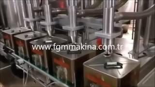 teneke zeytinyağ dolum makinası