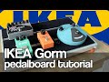 IKEA GORM pedalboard build - DIY pedalboard tutorial mp3 indir