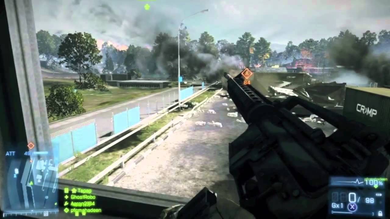 Battlefield 3 Multiplayer Gameplay LIVE Online - Launch ...