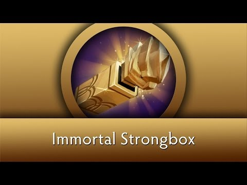 Dota 2 Chest Opening: Immortal Strongbox