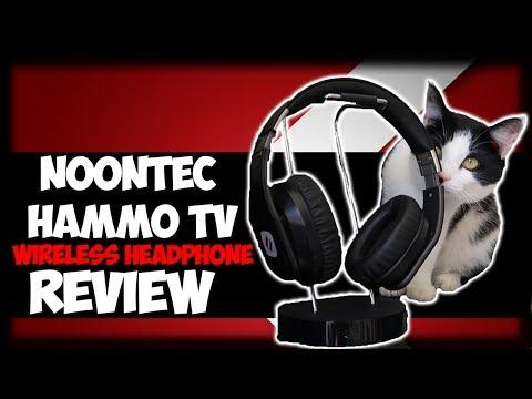 CAT APPROVED WIRELESS HEADPHONES! Noontec Hammo TV Wireless Headphone Review