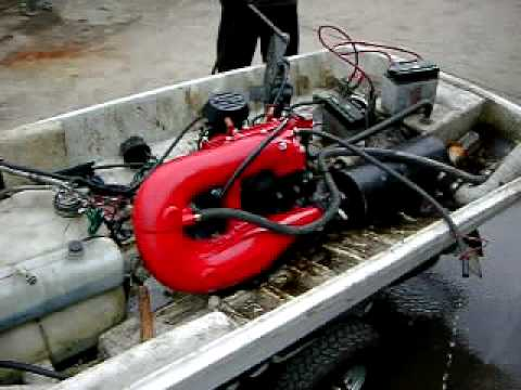 jet ski made in china engine test youtube