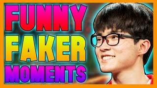 Faker Funny Moments - League of Legends