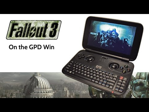 Fallout 3 on the GPD Win portable, fix crash on Intel HD [SOLVED]