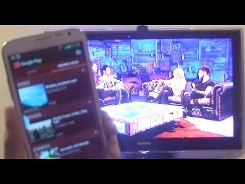 Streaming from Samsung Galaxy Note 2 (GT-N7100)