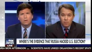Tucker Carlson DESTROYS Far Left Crank on Russian Hacking