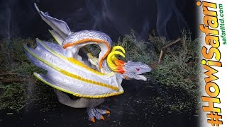 NEW 2017 Smoke Dragon from Safari Ltd! #HowiSafari Fantasy Dragons