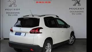 Peugeot 2008 occasion visible à Biscarrosse présentée par Peugeot biscarrosse labarthe automobile