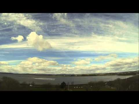 Montrose Basin time lapse 29 March - 17 April 2014