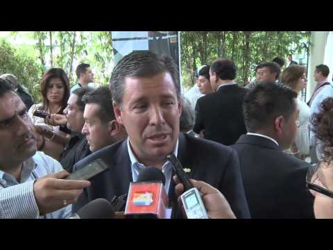Entrevista Miguel Márquez Márquez. Día del Alcalde Uriangato, Gto  06 Junio 2014