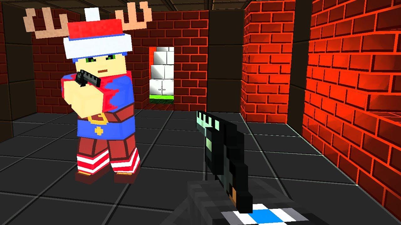 HOGATY VS BARTEK - BLOCKADE 3D - KTO MA WIĘKSZĄ ANAKONDĘ!? - WYZWANIE 100 FRAGÓW #01