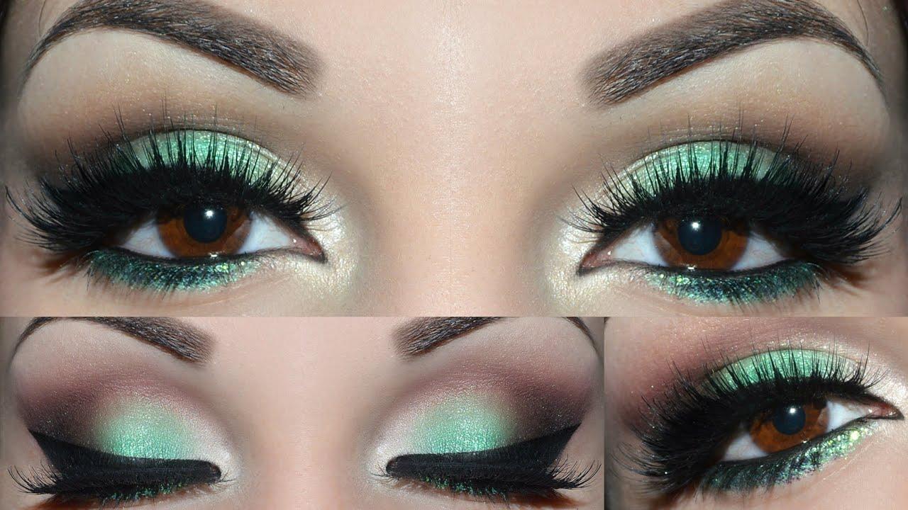 Verde Tutorial de maquillaje de ojos