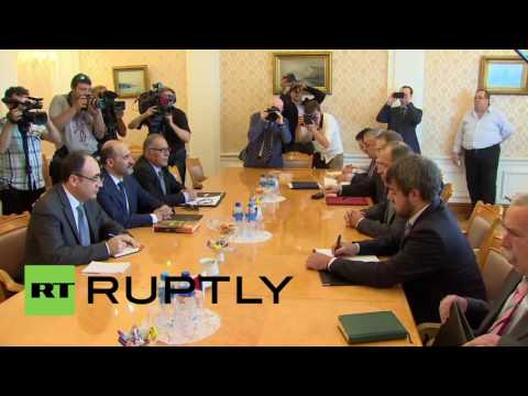 Russia: Lavrov meets with Syrian opposition in Moscow